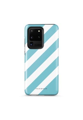 Polar Polar blue Baby Blue Slash Dual-Layer Tough Case Glossy For Samsung S20 Ultra 734D5AC6309B5CGS_1