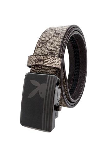 Playboy brown 35mm Automatic Belt 91134AC48EA76FGS_1