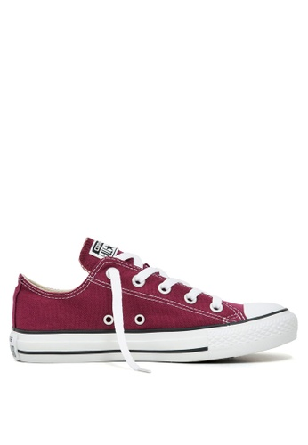 Converse red Chuck Taylor All Star Core Ox Sneakers D7AADSHB77C999GS_1