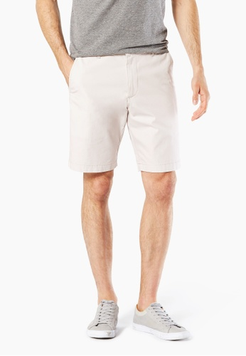 Dockers white Dockers Slim-Straight Shorts Marble 870A7AAC9C5B5AGS_1
