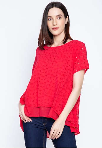 BLUSA red Stella Blouse 3C833AAA4491A4GS_1