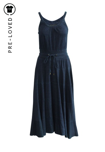 Marc By Marc Jacobs blue Pre-Loved marc by marc jacobs Casual Blue Navy Maxi Dress 3B20AAAD5D7A33GS_1
