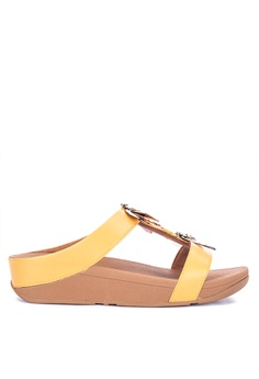 69427266a093 Fitflop yellow Fino Dragonfly Slide Sandals 1FFA0SH83C8DCEGS 1