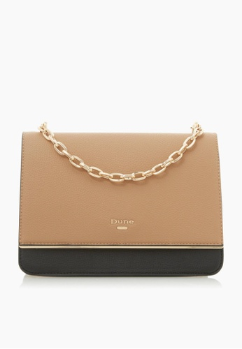 Dune London brown Dune London Delightful Boxy Clutch Bag B96F5ACC8A8AA3GS_1