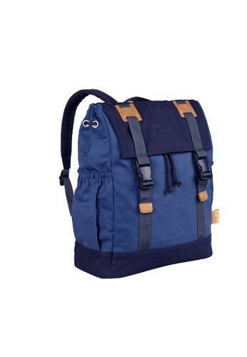 LASSIG blue Lassig Vintage Little One & Me Backpack Diaper-Big (Blue) FBAC3KCEA551E9GS_1