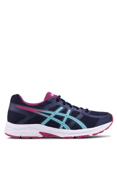 Asics blue and navy Gel-Contend 4 Shoes AS989SH0SVRKMY_1