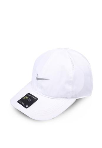 Nike white Nike Featherlight Cap 316E8ACE2C2954GS_1