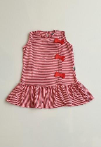 Vanessa and Cedreela red Vanessa and Cedreela Red Stripe Sleeveless Dress E14F0KA9379BC0GS_1