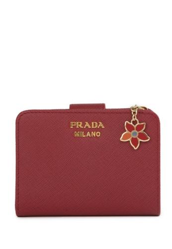 Prada red Prada Wallet 93CD1ACFBA557EGS_1