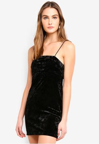 74ec272392a Buy TOPSHOP Petite Velvet Slip Dress Online on ZALORA Singapore