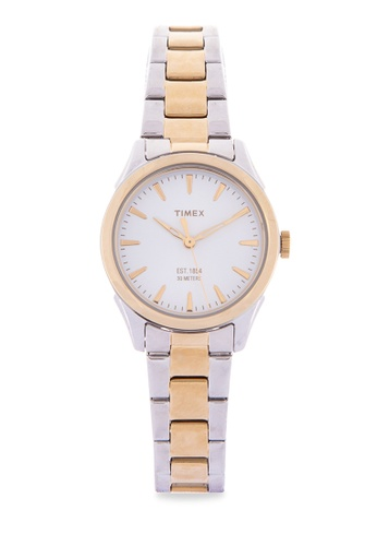 TIMEX silver and gold Chesapeake Watch for Women TW2P81900 TI205AC35MHCPH_1