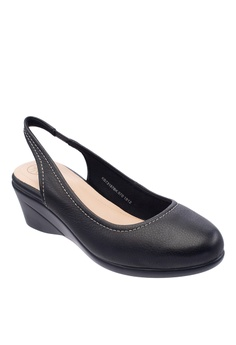 5da58602ad8 30% OFF Hush Puppies Hush Puppies Women s Jiselle Slingback Wedges - Black  RM 379.00 NOW RM 265.30 Sizes 5 6 7 9