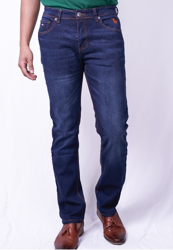 MILANO blue and navy Milano Jeans Long Pants Straight C7DC5AA5F5FF3DGS_1