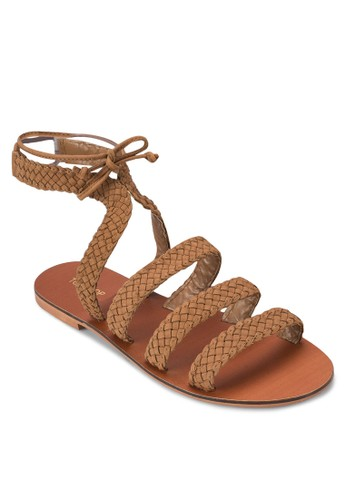 Havoy 編制多帶涼鞋、 女鞋、 鞋TOPSHOPHavoy編制多帶涼鞋最新折價