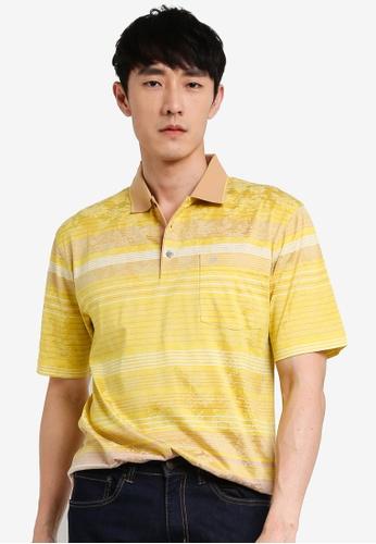 John Master brown John Master Casual Regular Fit 80/2 Mercerised Cotton Short Sleeve  Polo - Khaki 8059619-K5 B8130AABE680B9GS_1