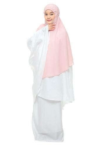 SITI KHADIJAH pink Siti Khadijah Telekung Flair Yaseera + Free Pink Box D0BAEAA4ED5D0CGS_1