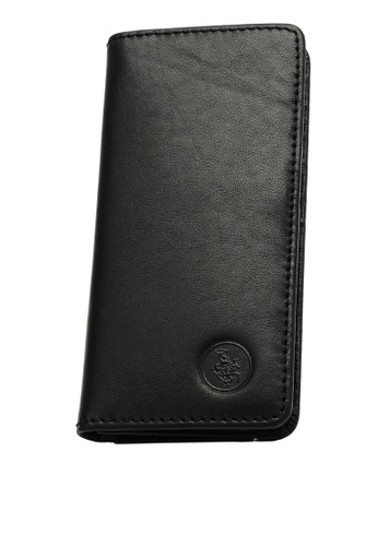 Swiss Polo black Swiss Polo Bi-Fold Rfid Blocking Long Wallet 360C7AC72806A5GS_1