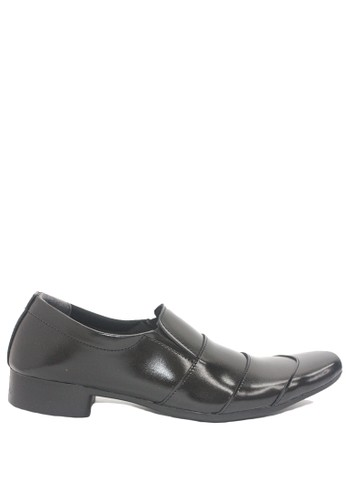 Dr. Kevin black Dr. Kevin Men Dress & Bussiness Formal Shoes 13333 - Black FEB69SHBCFBA16GS_1