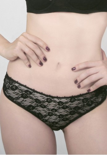 Raquel Lingerie black Charlise Black Bikini Panty RA363US86RRPID_1