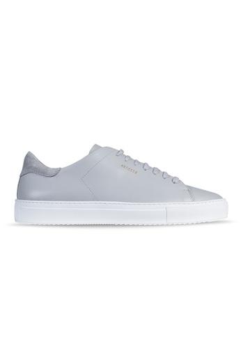 Axel Arigato Clean 90 Sneaker 淺灰色皮革 5C57ESHEB71267GS_1