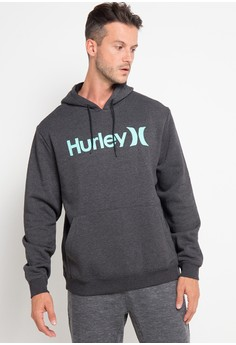 03992915bd3f hurley black and multi Surf Check One   Only Pop Hood Fleece  066AFAAFC4D6B0GS 1