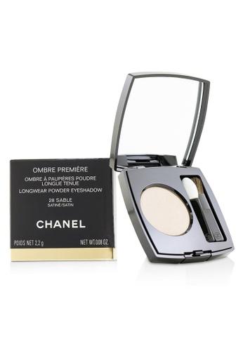 CHANEL CHANEL - Ombre Premiere Longwear Powder Eyeshadow - # 28 Sable (Satin) 2.2g/0.08oz C8E0ABEF7D0E54GS_1