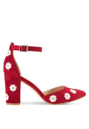 ZALORA red Floral Pumps 1A8E9SHC15E4BFGS_1