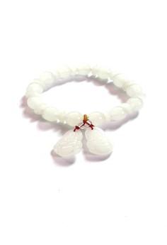 Feng Shui Jade Laughing Buddha Bracelet