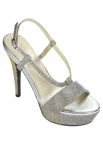 Elle Shoes grey EL 30076 Grey - Gold EL820SH38YZDID_1