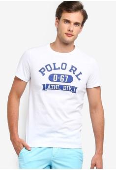 f6bec4fa8 Polo Ralph Lauren white Short Sleeve Crew Neck Slim T-Shirt  7D271AA761D2F9GS_1