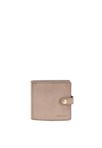 RABEANCO grey RABEANCO Snap Button Wallet - Grey 9C8E0ACB14363EGS_1
