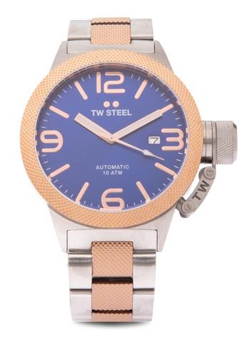TW Steel silver CB145 Canteen Bracelet Analog Watch TW310AC0KMA7PH_1