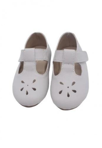 RAISING LITTLE grey Bazzy Tbars Shoes - Bone 90C78KSF125E0FGS_1