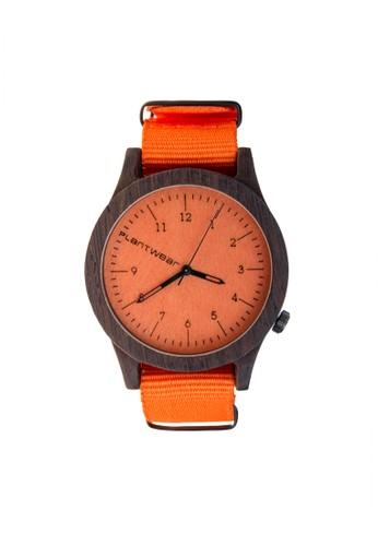 傳承系列esprit台北門市活力橙黑檀木錶, 錶類, 紳士錶