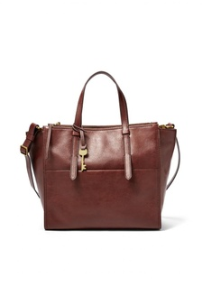 Fossil Campbell - Leather - Tote - Henna - Tas Wanita - ZB7597-227  680AEAC9934DCDGS 1 667d8a7909