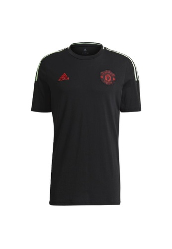 ADIDAS black adidas Manchester United Tee 54879AA799BD9DGS_1