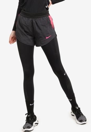 Nike black Short Runway Running Shorts 0AE95AAE877377GS_1