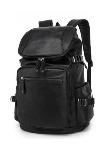 8ad8803fdc13 Buy Lara Large Capacity Plain Travel Backpack for Men Online on ZALORA  Singapore