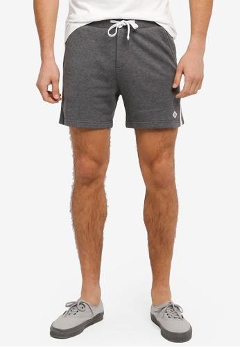 JAXON grey Terry Easy Shorts With Side Trim D37DDAA3C102B6GS_1