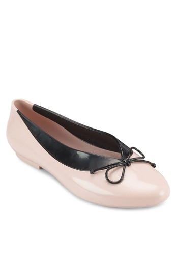 Just Dance 蝴京站 esprit蝶結平底鞋, 女鞋, 鞋
