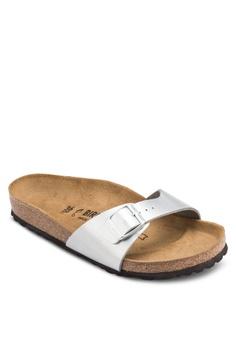 4eee6b3149f Birkenstock silver Madrid Sandals BI090SH38CSBMY 1