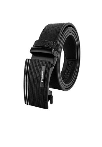 Playboy black 35mm Auto Belt F0358AC6EB44EEGS_1