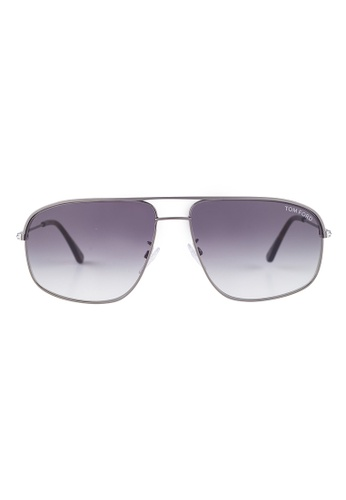 Tom Ford silver TOM FORD Justin Square Silver Sunglasses TF467 TO545AC41JFYMY_1