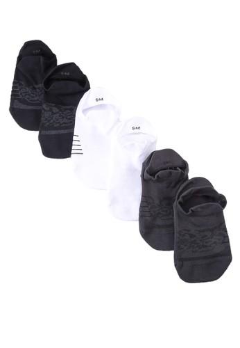 Under Armour black UA Women's Breathe No Show Tab Socks 139F6AC73C25CAGS_1
