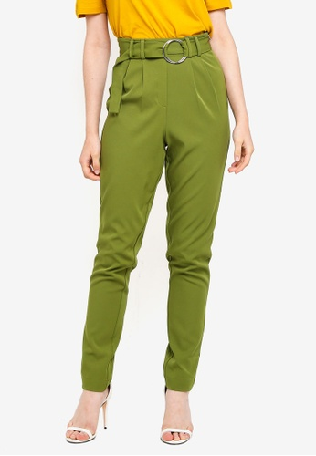 Pieces green and multi Kathrine Pants C6224AAC936B2DGS_1