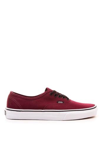 Vans red Authentic Sneakers 436E3SH9C33469GS_1