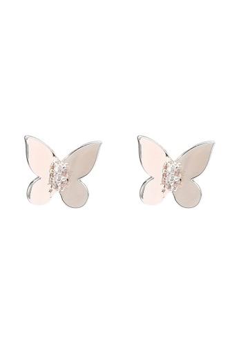 ALDO pink Gobet Pierced Earrings 0E2DAAC5BA396BGS_1