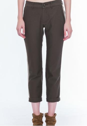 Alpha Style green Babette Track Pants AL461AA0GMCNSG_1