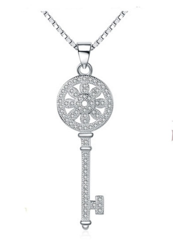 LYCKA silver LPP88142 S925 Silver Necklace 51A34ACE1E303FGS_1
