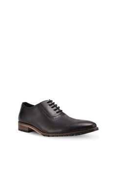 49% OFF ZALORA Calf Leather Lace Up Dress Shoes RM 229.00 NOW RM 115.90  Available in several sizes